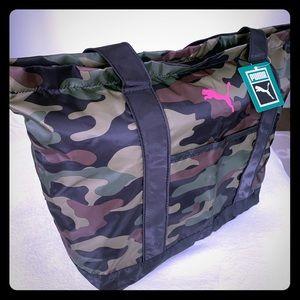 Puma Camouflage Gym Bag